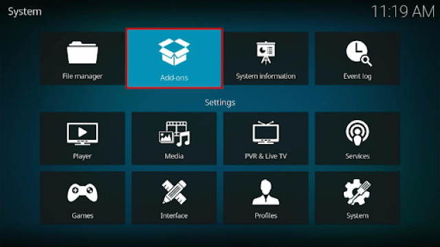 Install Ares Wizard and Reset Kodi By Default Step 10
