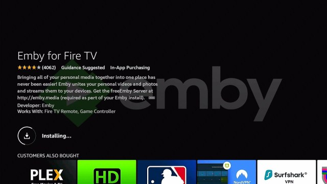 Install Emby Directly on Firestick Step 8