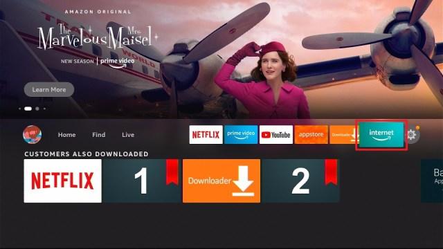 Install Stream Independent TV on Firestick Step 2