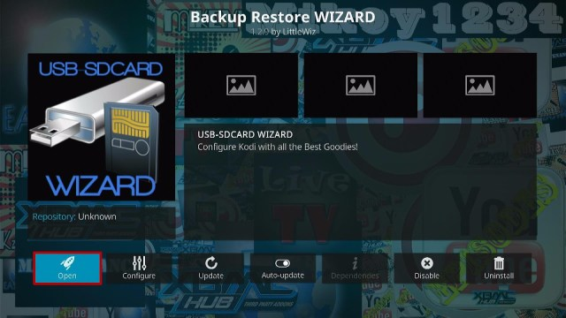 Install the USB-SDCard Wizard Step 4