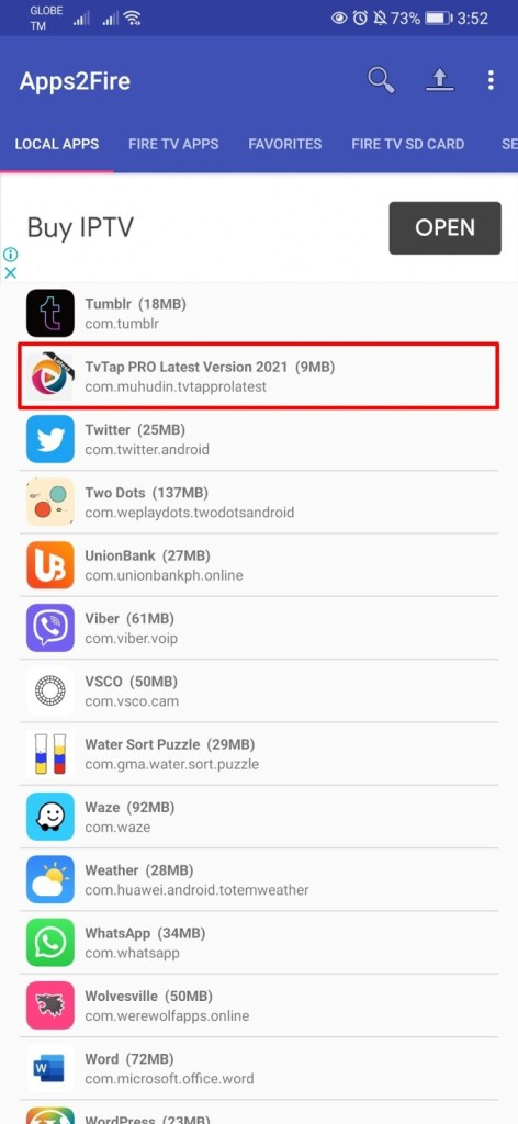 Installing Apps on your Firestick from Android Phone Step 18