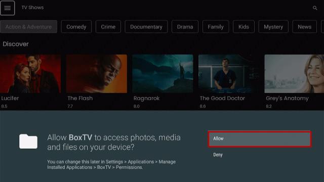 Step 19 Install Box TV App on Firestick