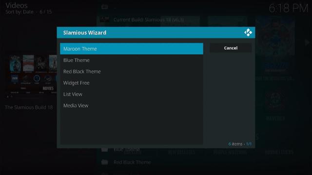 Step 23 Install Slamious Kodi Build