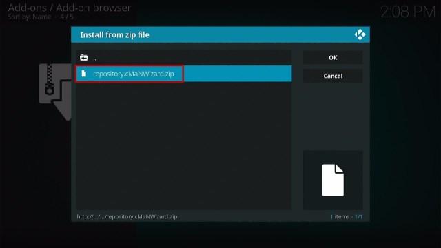 Install Epix Kodi Build 13