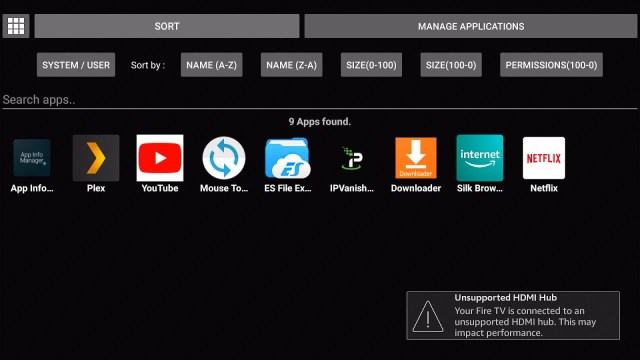 Install the App Info Manager on your Fire TV stick 14