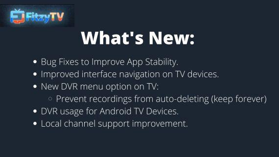 FitzyTV Update 1