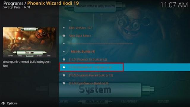 Install SteamPunk Kodi Build 28