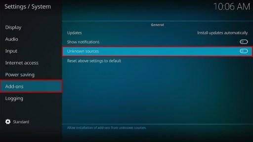 Install VMAXX Kodi Addon 3