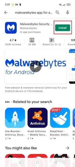 Malwarebytes Android 5