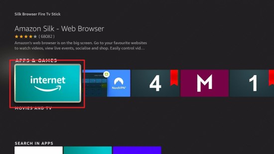 Silk Browser Install 5