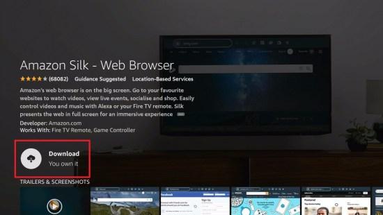 Silk Browser Install 6