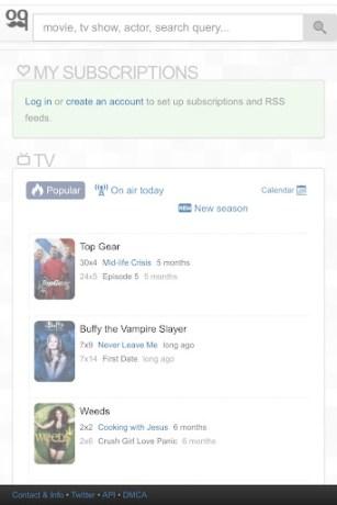 Zooqle on IOS