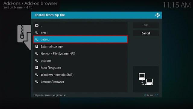 Install Fluxus IPTV Kodi Add-on 13