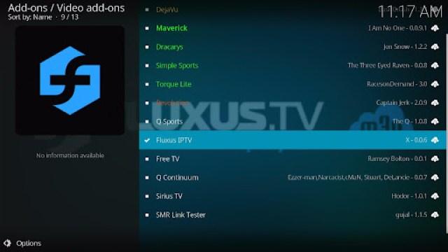 Install Fluxus IPTV Kodi Add-on 21