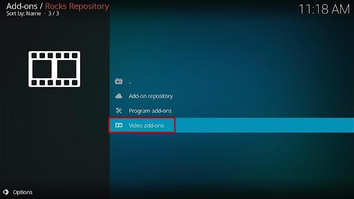 Install VMAXX Kodi Addon 17