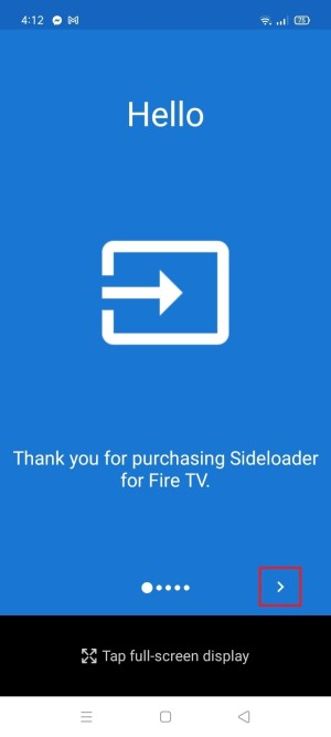 Install Sideloader for Fire TV App on Your Android 15