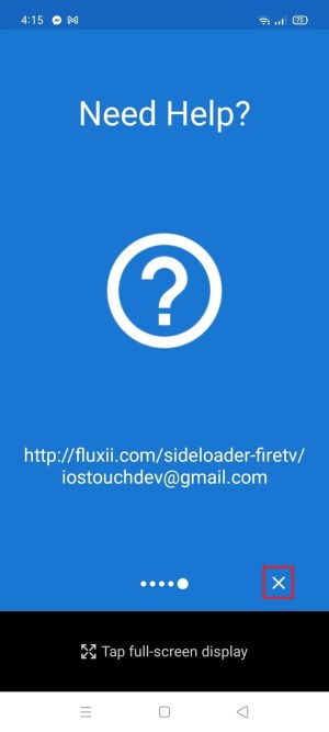 Install Sideloader for Fire TV App on Your Android 16