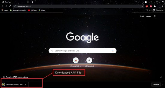 Install Sideloader for Fire TV App on Your Android 3