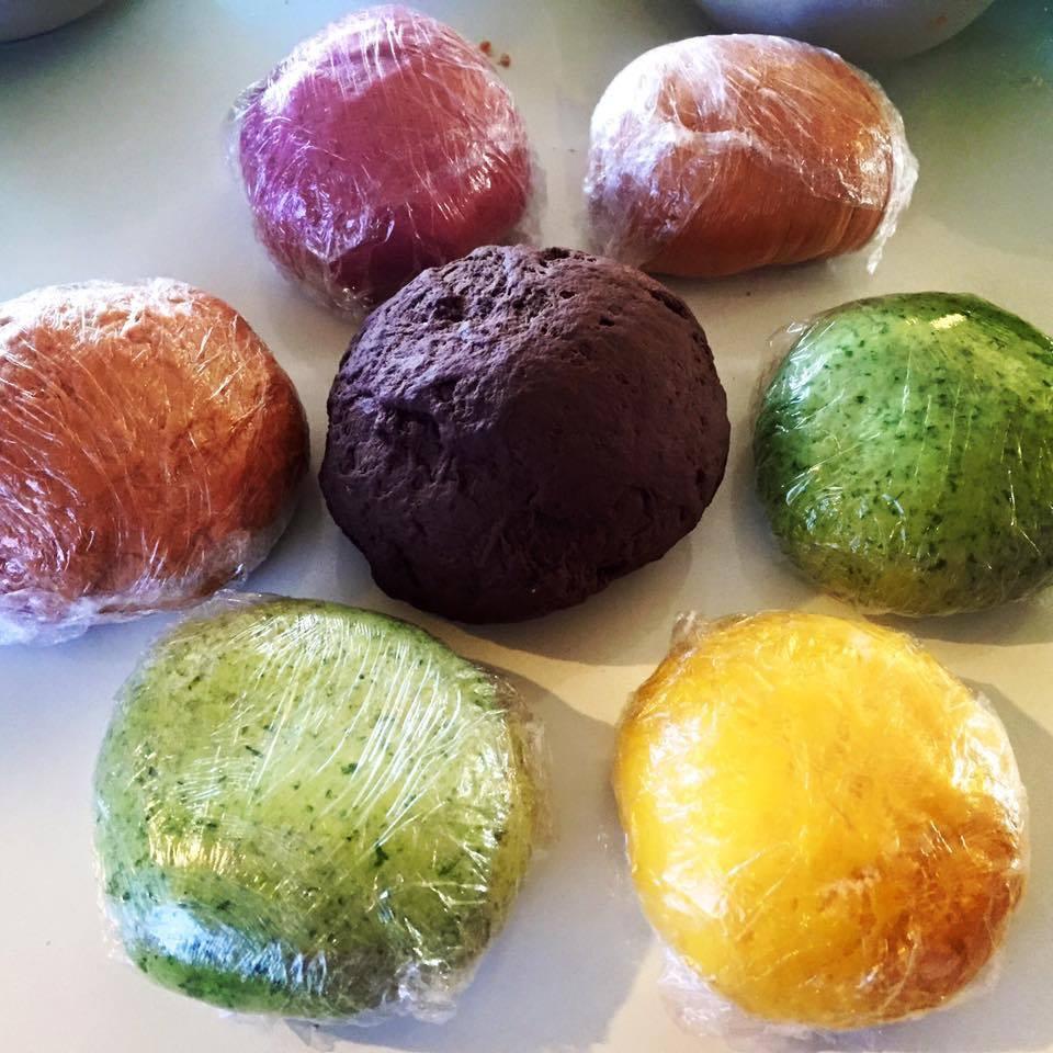 פסטה צבעונית מתכון
