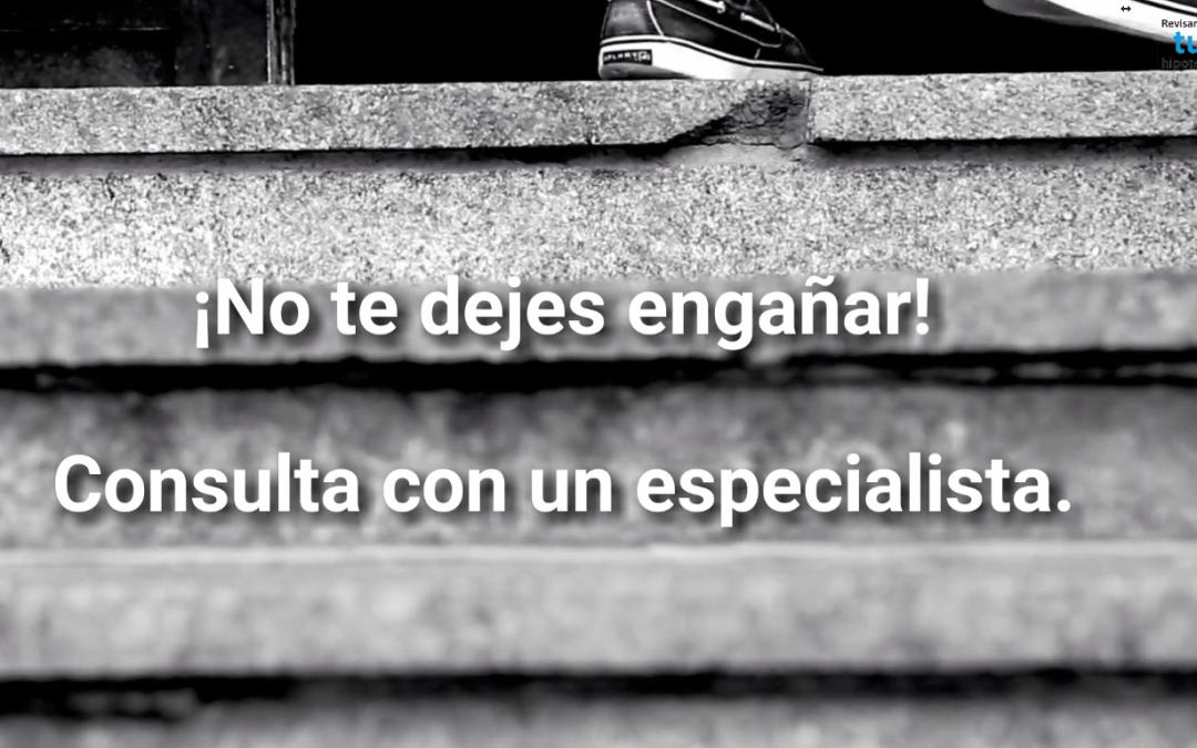 Si tienes #cláusulasuelo, consulta con un experto. ¡No te dejes engañar!
