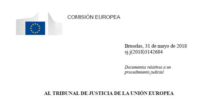 IRPH: el informe de la Comisión Europea da la razón al cliente.