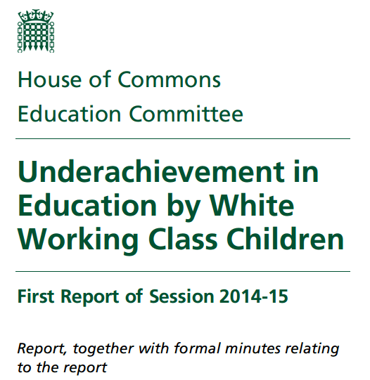 educational underachievement sociology government report