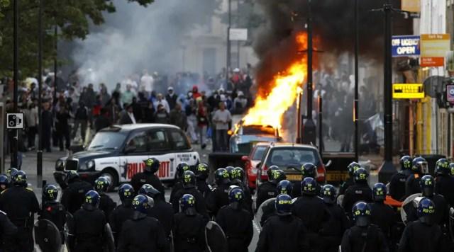 News values London Riots