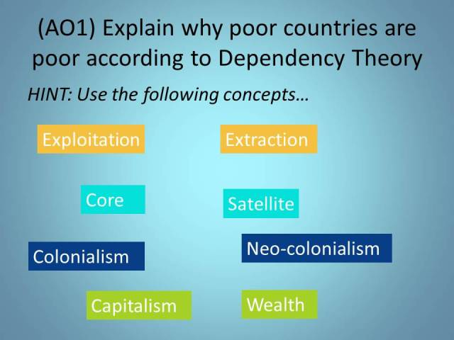 Why poor countries poor
