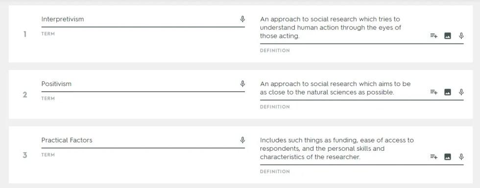 Sociology quiz