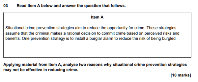 sociology exam question
