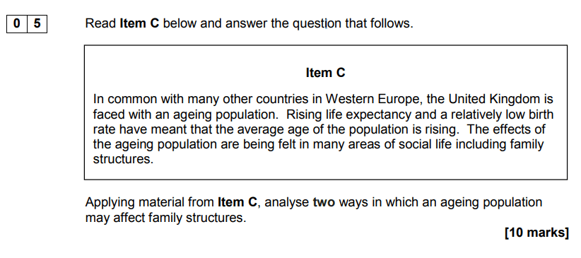 analyse-using-item-question-10-marks