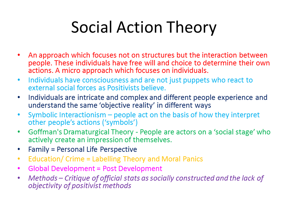 social action theory