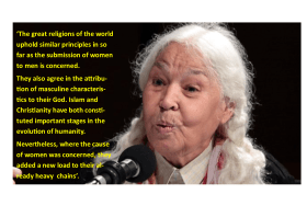 Nawal El Saadawi: The Hidden Face of Eve