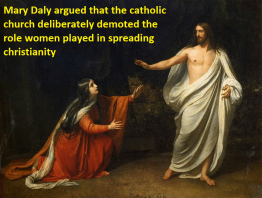 Mary Daly's Perspective on Religion