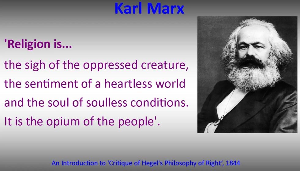 marxist perspective religion