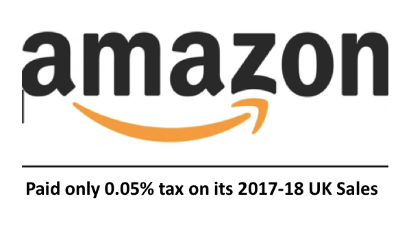 Amazon's 0.05% U.K. Tax Rate