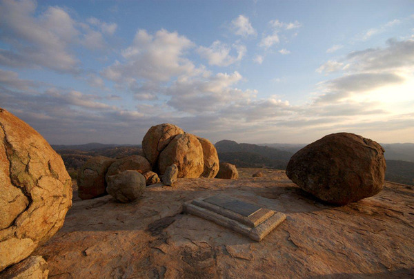 Matopos the burial place of Mzilikazi Khumalo Chief of the Ndebel