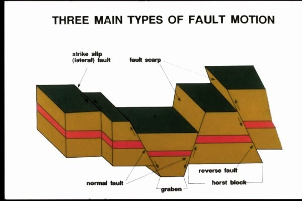 Common types of faults.