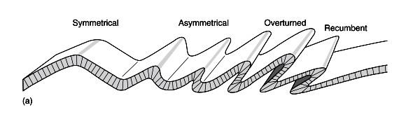 Types of folding. Image via Losrios.edu