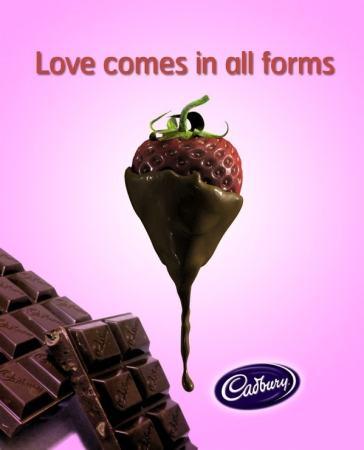 A cadbury Advertisement. Image credit jtresca.com