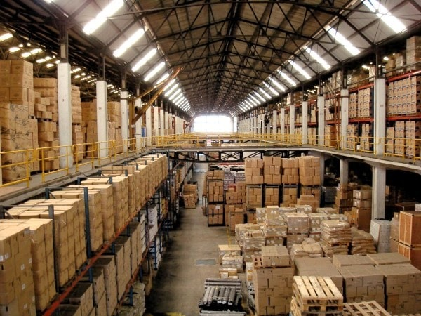 Wholesale warehouse. Image credit flexport.com