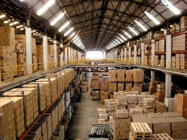 Wholesale warehouse. Image credit flexport.com