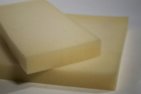 Rectangular foam rubber can be used to show the effects of forces. Image credit shopify.com