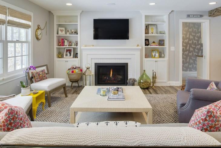 Living Room Remodel- Revision LLC
