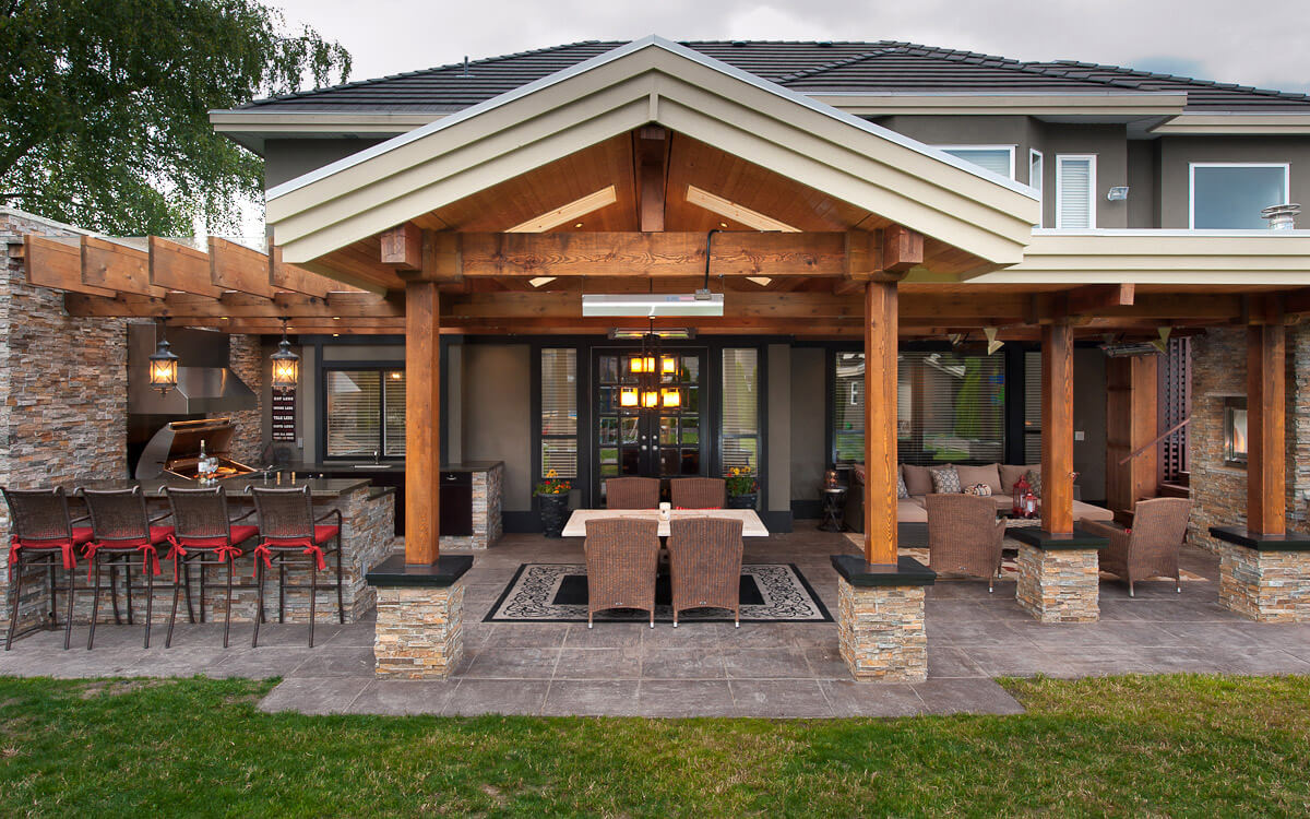 Vancouver Outdoor Kitchens By ReVISION Custom Home Renovations