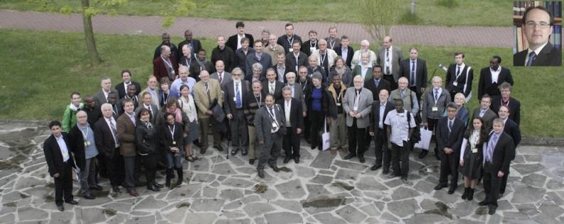 """Participantes en la conferencia sobre """"El Impacto de la Primera Guerra Mundial en el Adventismo del Séptimo Día"""" en la Universidad Adventista de Friedensau el pasado Mayo de 2014. Foto: Denis Kaiser."""