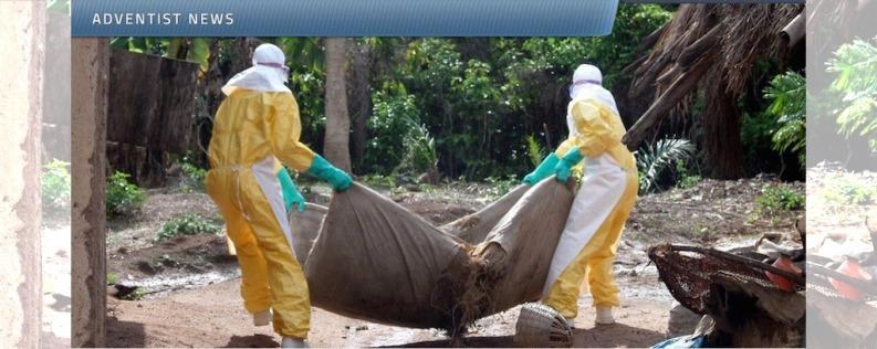 Foto: El cuerpo de una víctima de Ébola siendo movido en África Occidental. ©Jean-Louis Mosser / ECHO / EC / Flickr.