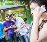 jóvenes y móvil