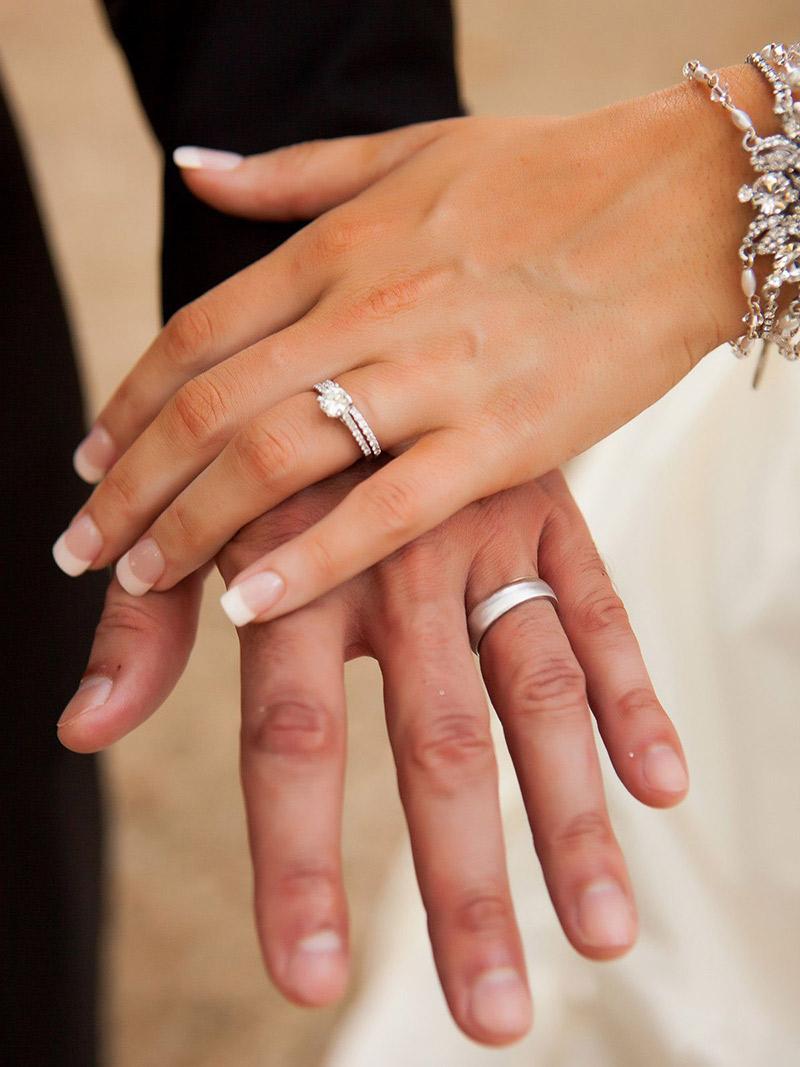 Aliança de casamento escolha dos noivos