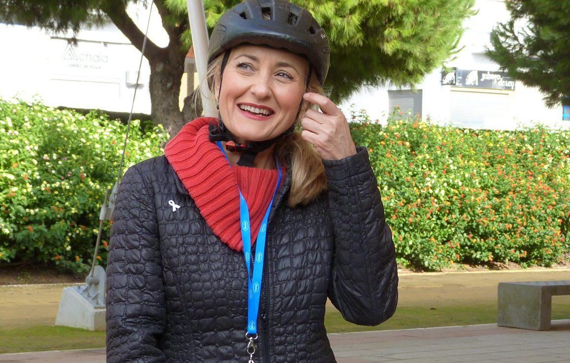 """Isabel Brito, candidata de Equo-Verdes-Iniciativa Andalucía: """"Las administraciones no están suficientemente comprometidas con una solución para los fosfoyesos"""""""